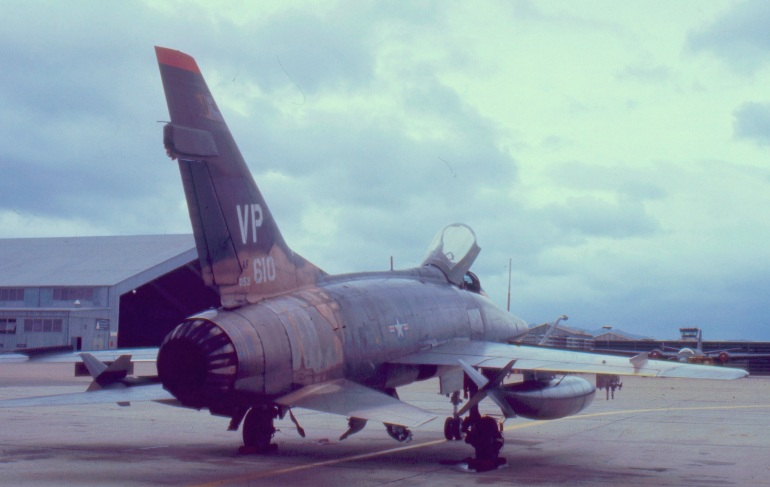 F-100-A Jet Fighter Used for Close Air Support